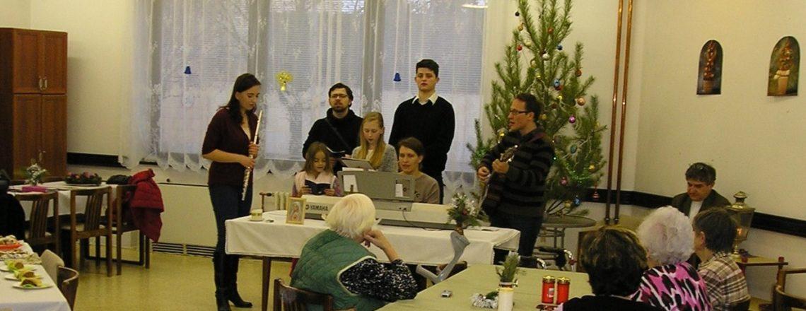 Vánoce 2016 aneb Sboreček tradičně se seniory