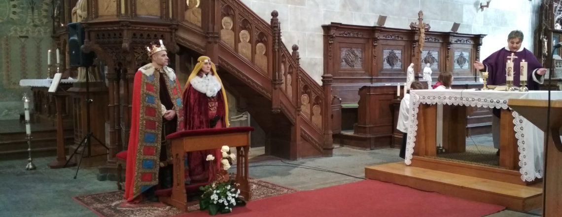 Dětská bohoslužba s Janem Lucemburským a Eliškou Přemyslovnou